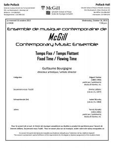 CME 13:14 Concert 1