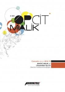 Visuel Op.Cit Malik-2014